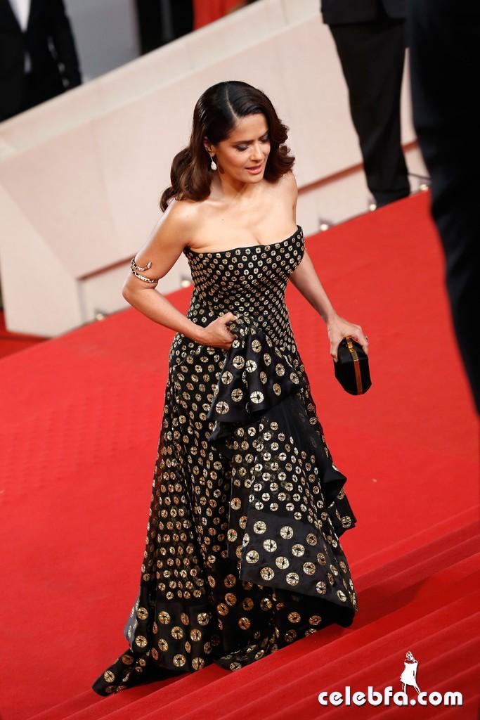 Salma Hayek -  Cannes (2)