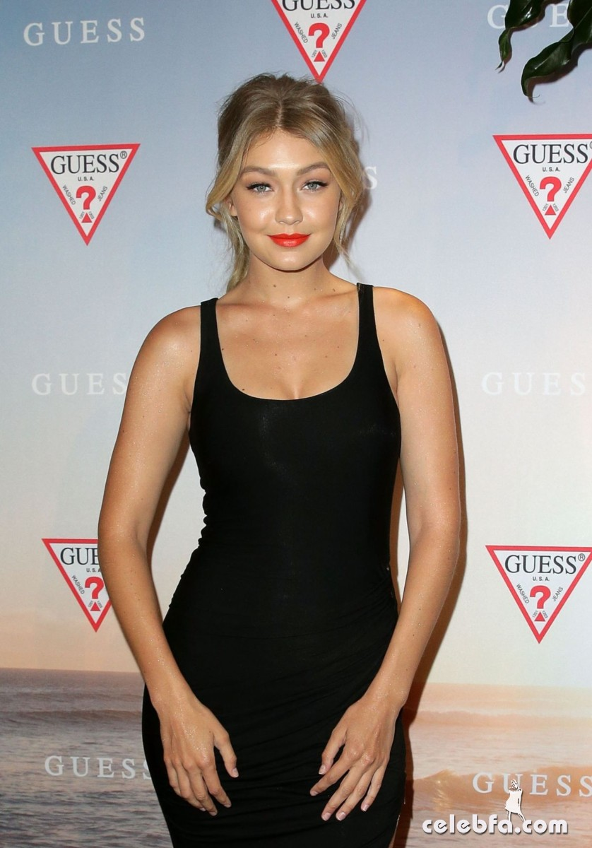 gigi-hadid-at-guess-spring-2015-collection-launch (1)