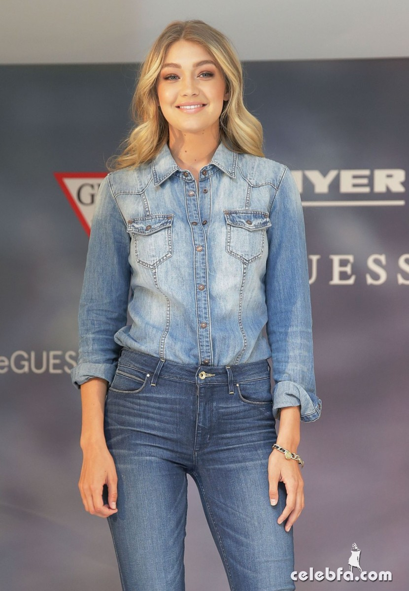 gigi-hadid-at-guess-spring-2015-collection-launch (5)