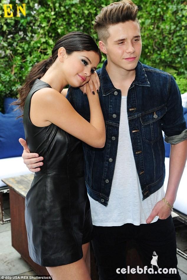 Brooklyn-Beckham-Selena-Gomez (4)