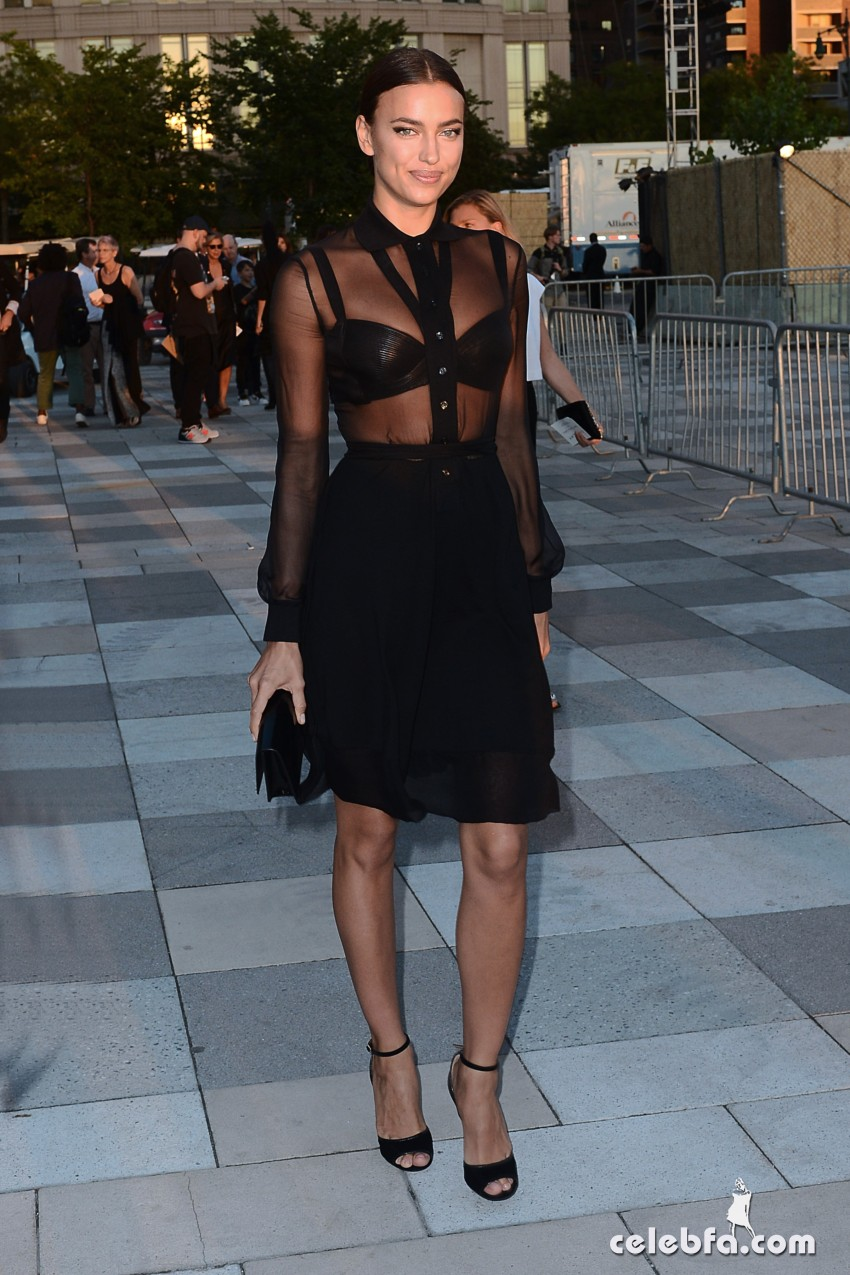 Irina Shayk attends The Givenchy Show on September 11, 2015, New York, New York, USA. Photo Credit All Access Photographer Group. Copyright All Access Photo Agency.   WEBSITE: www.allaccessphotoagency.com  CONTACT: editor@aapagency.com  FACEBOOK: https://www.facebook.com/allaccessphotoagency  INSTAGRAM: http://instagram.com/allaccessphotoagency