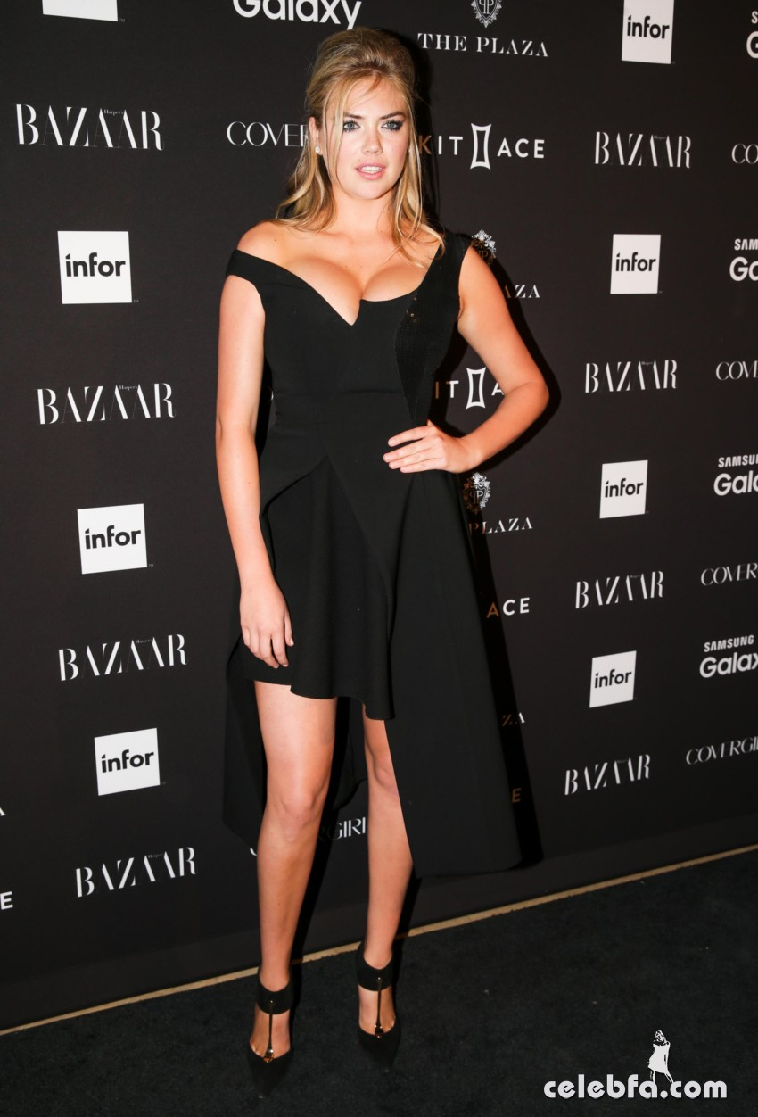 Kate Upton - 2015 Harper's BAZAAR ICONS Event in NYC (2)