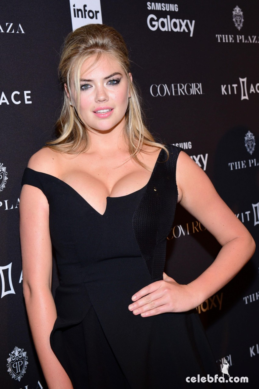 Kate Upton - 2015 Harper's BAZAAR ICONS Event in NYC (6)