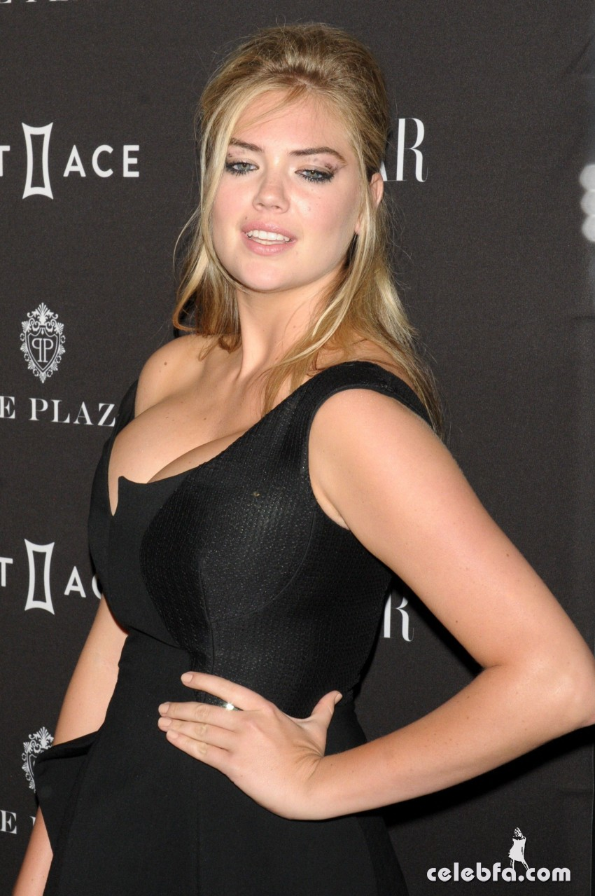 Kate Upton - 2015 Harper's BAZAAR ICONS Event in NYC (8)