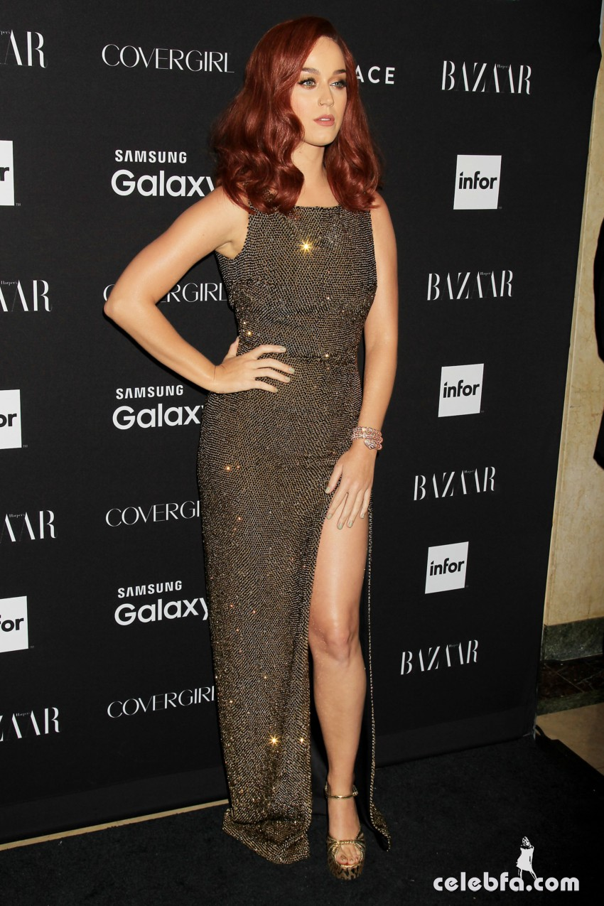 Katy Perry - 2015 Harper's BAZAAR ICONS Event in NYC (2)