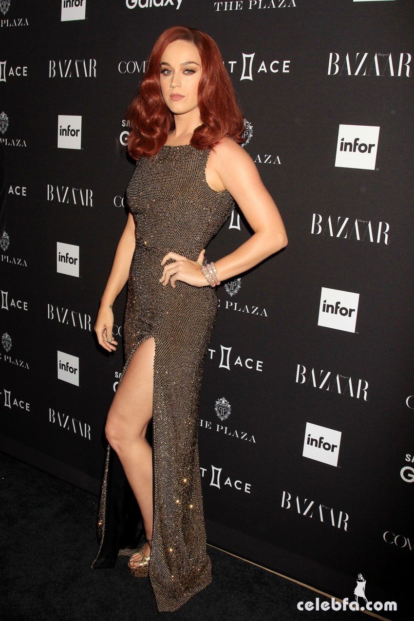 Katy Perry - 2015 Harper's BAZAAR ICONS Event in NYC (4)