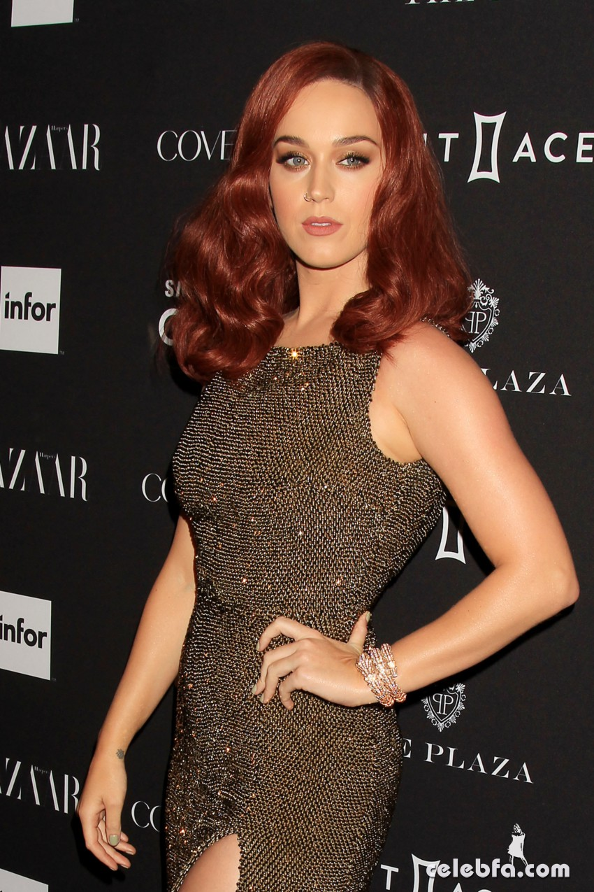 Katy Perry - 2015 Harper's BAZAAR ICONS Event in NYC (5)