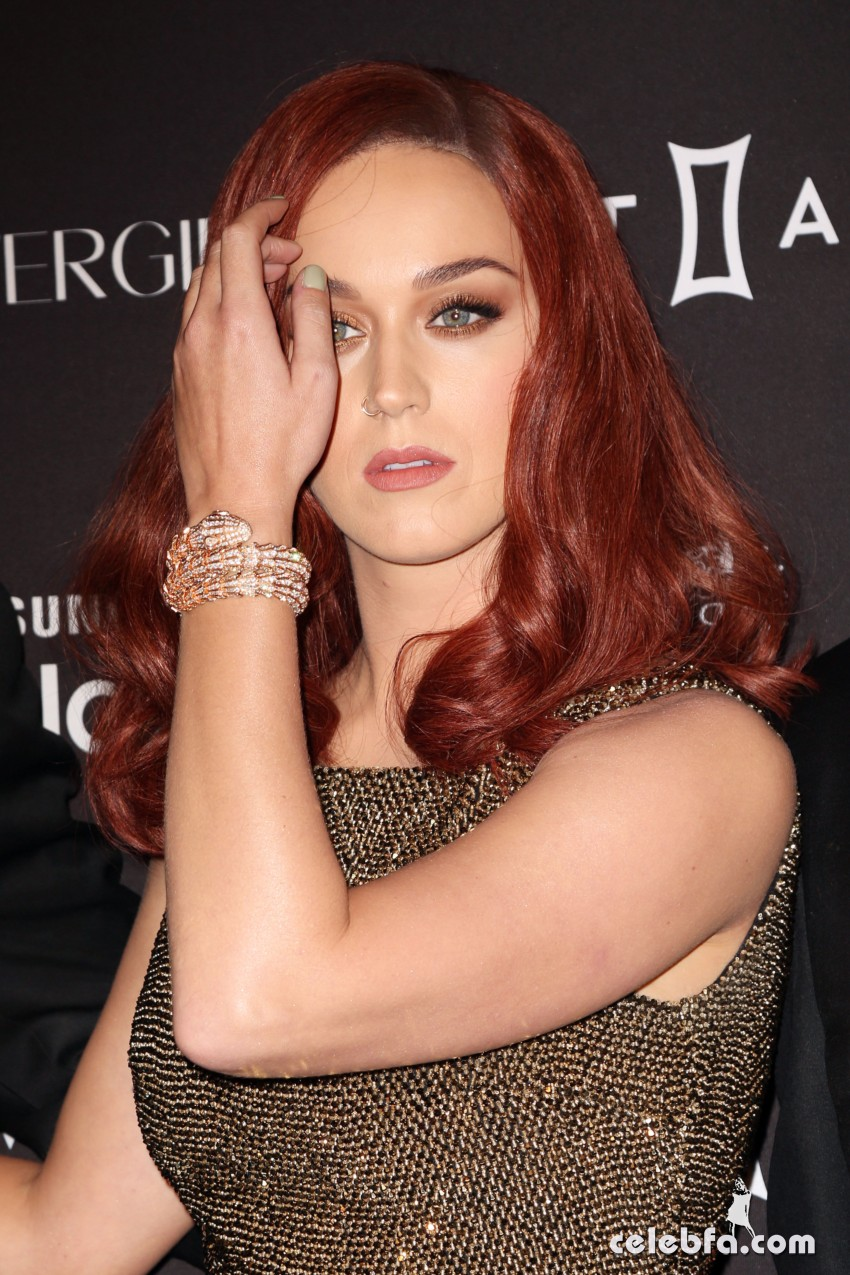 Katy Perry - 2015 Harper's BAZAAR ICONS Event in NYC (6)