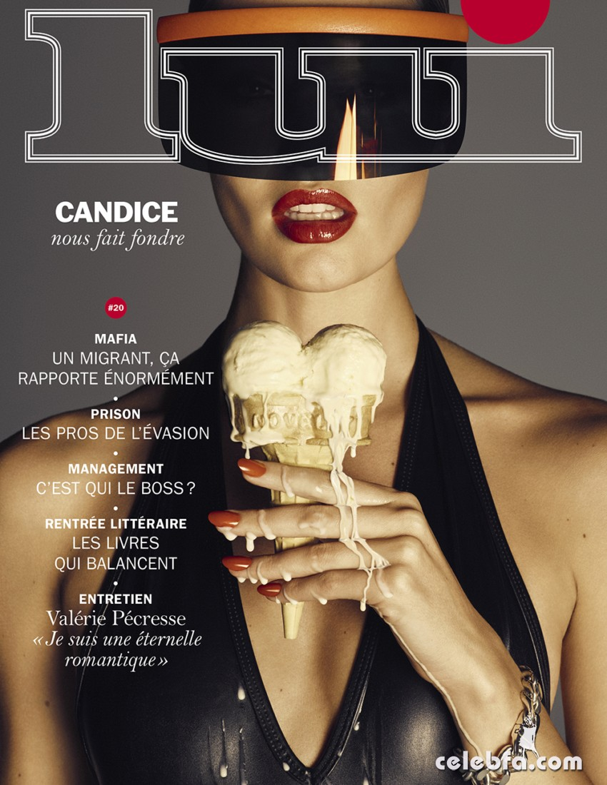 Lui September 2015 Candice Swanepoel (1)