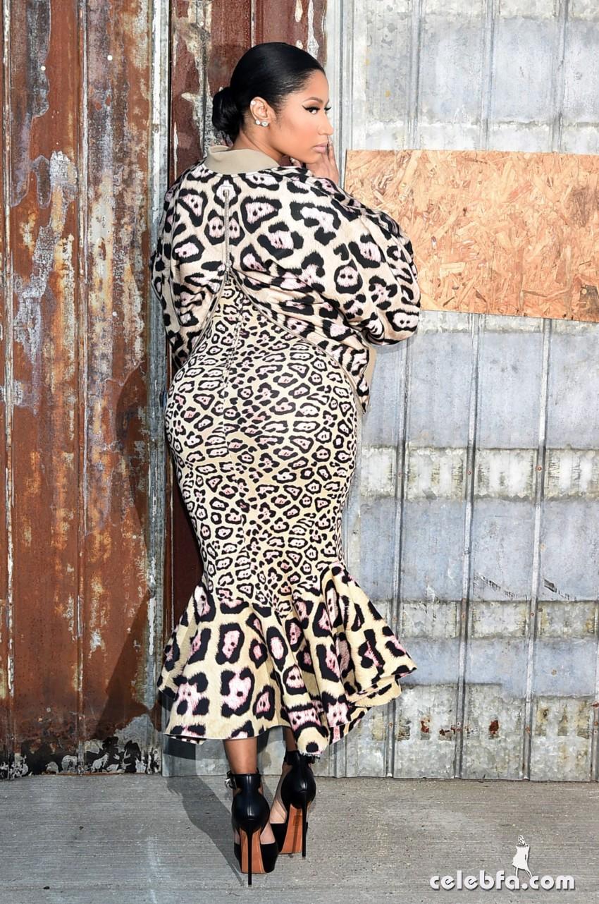 Nicki Minaj - Givenchy show (4)