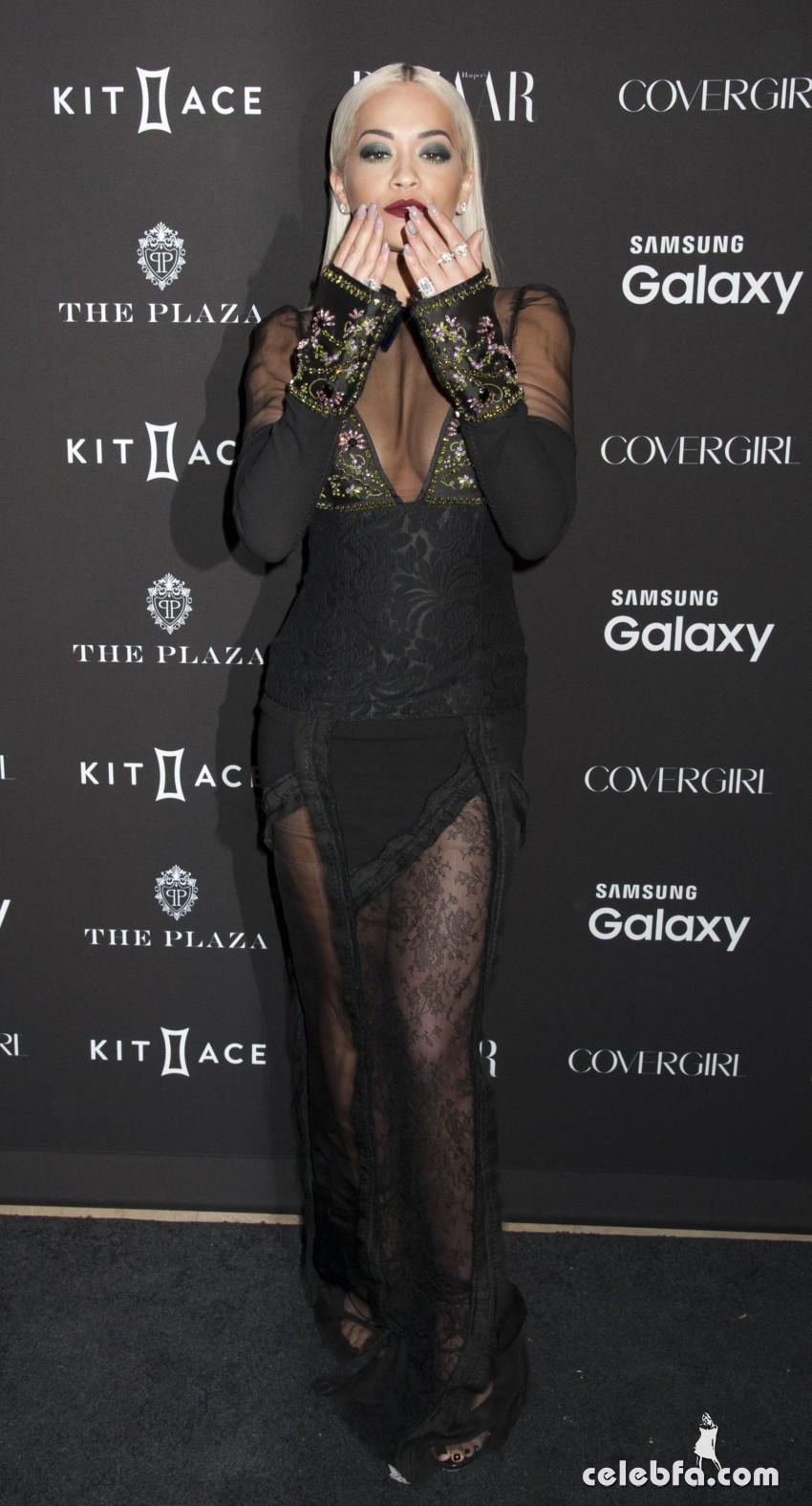 Rita Ora - 2015 Harper's BAZAAR ICONS event (2)