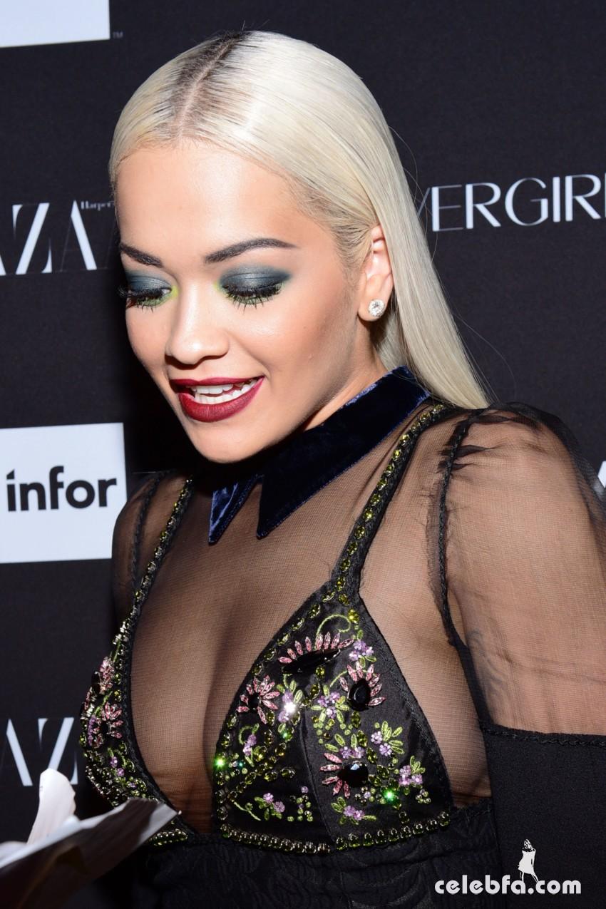 Rita Ora - 2015 Harper's BAZAAR ICONS event (9)