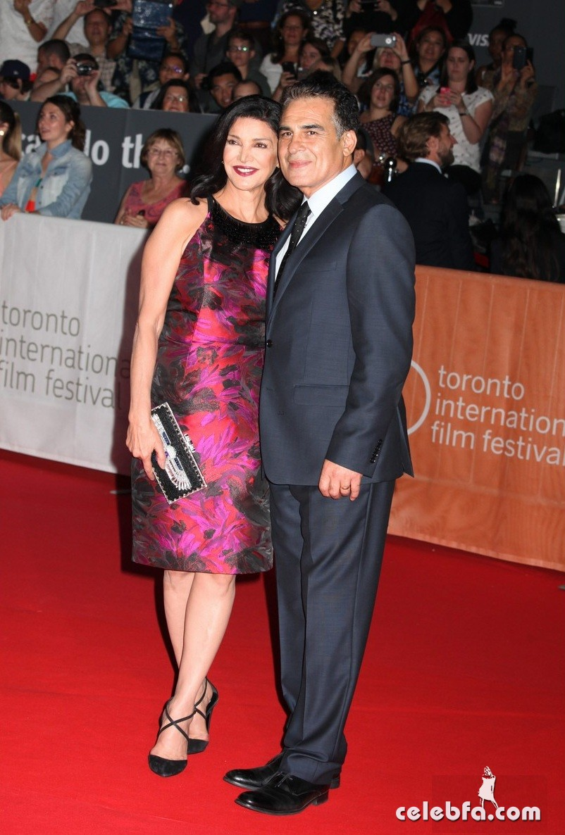 **USA, Australia, New Zealand ONLY** Toronto, Canada - Actress Shohreh Aghdashloo and husband attend the 'Septembers of Shiraz' premiere held at Roy Thomson Hall during the 40th Toronto International Film Festival in Toronto, Ontario. AKM-GSI         September 15, 2015 **USA, Australia, New Zealand ONLY** To License These Photos, Please Contact : Steve Ginsburg (310) 505-8447 (323) 423-9397 steve@akmgsi.com sales@akmgsi.com or Maria Buda (917) 242-1505 mbuda@akmgsi.com ginsburgspalyinc@gmail.com