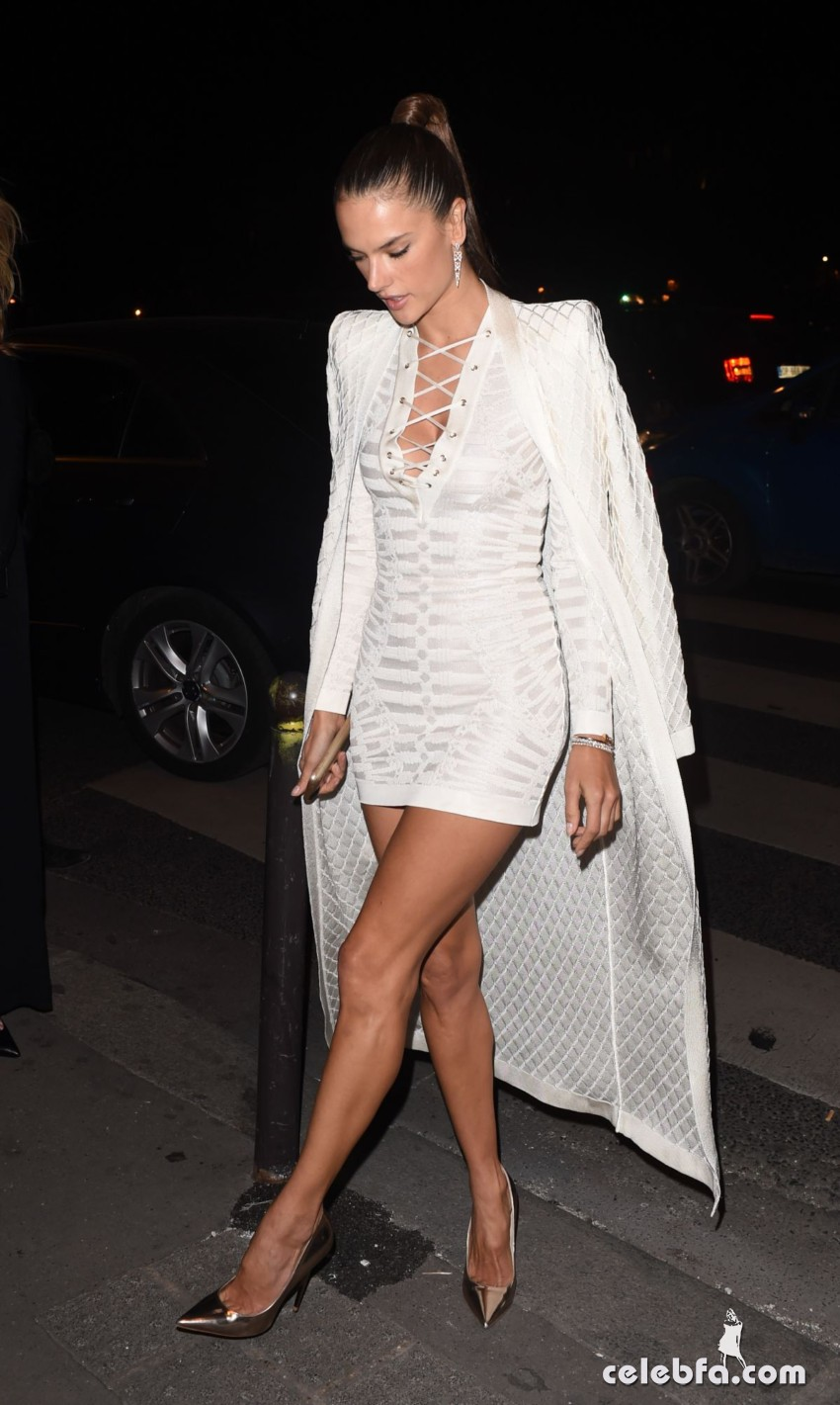alessandra-ambrosio-at-balmain-fashion-show-after-party-in-paris (5)