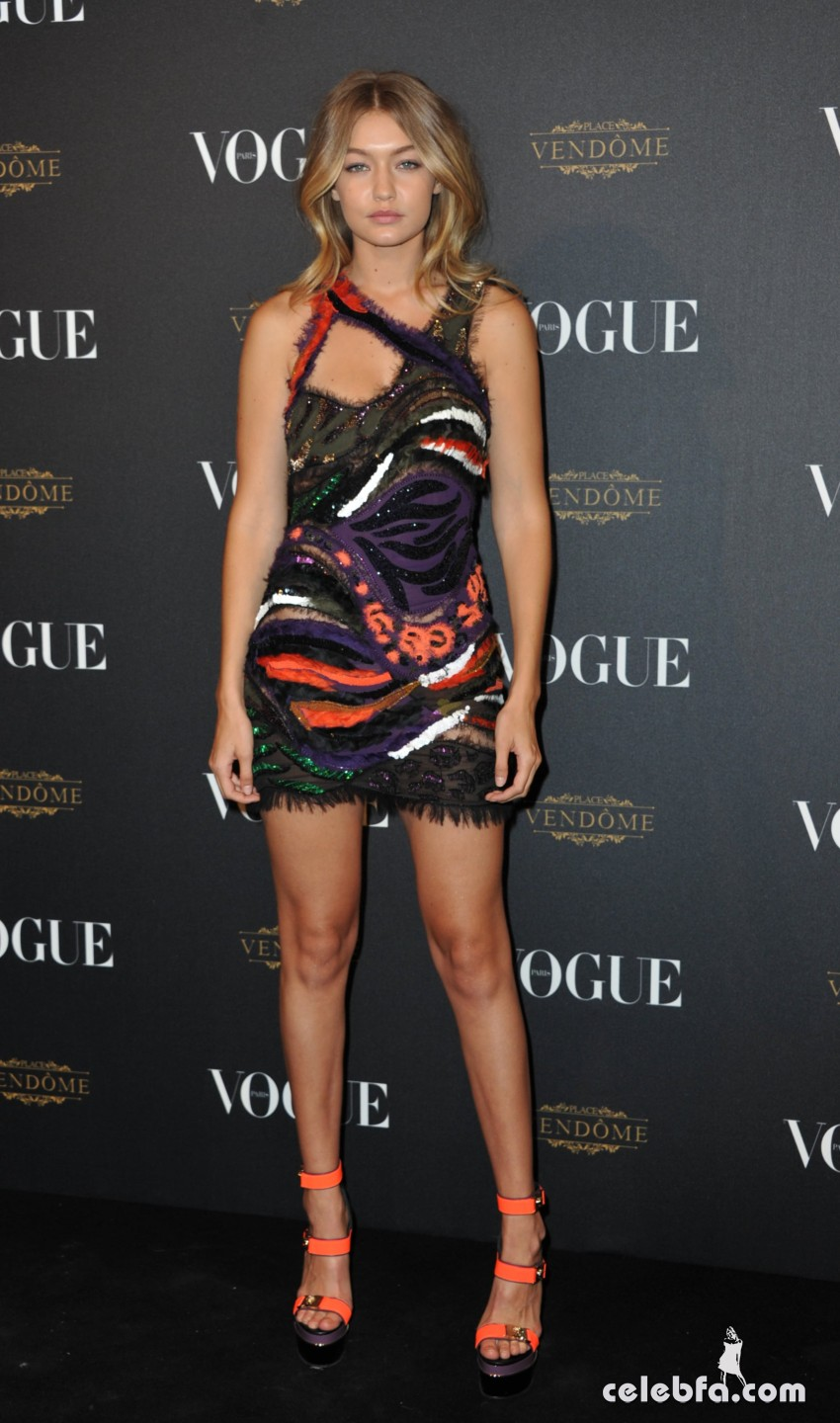 Gigi Hadid - Vogue's 95th Anniversary Party (2)