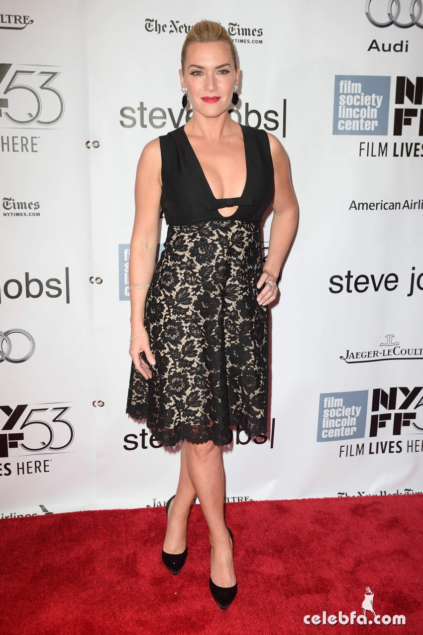 Kate Winslet NYFF Screening of Steve Jobs  (1)