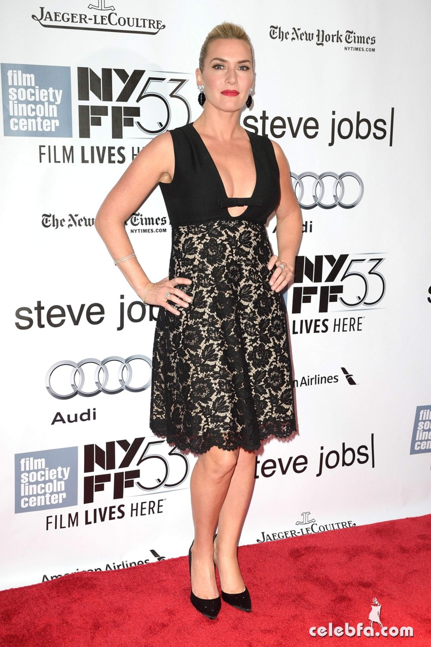 Kate Winslet NYFF Screening of Steve Jobs  (3)