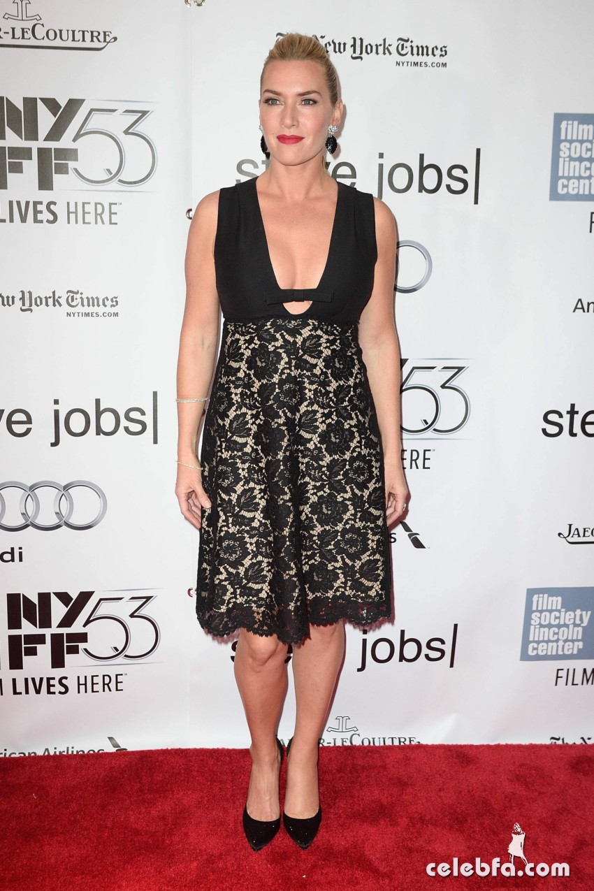 Kate Winslet NYFF Screening of Steve Jobs  (4)