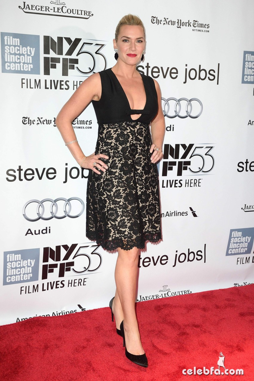Kate Winslet NYFF Screening of Steve Jobs  (5)