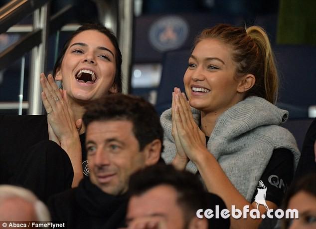 Kendall Jenner and Gigi Hadid -Rihanna (1)