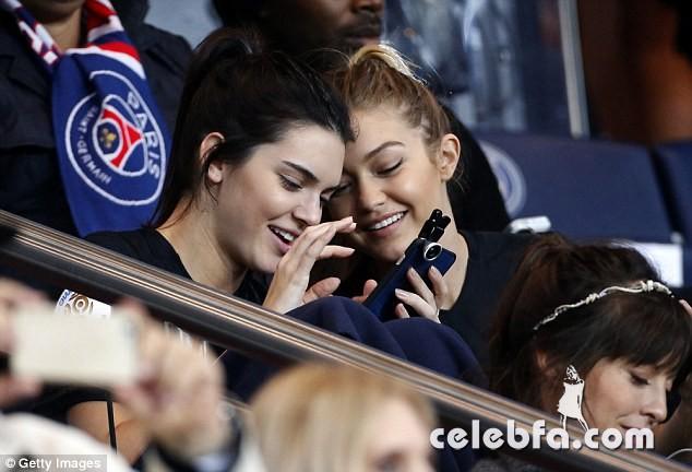 Kendall Jenner and Gigi Hadid -Rihanna (17)