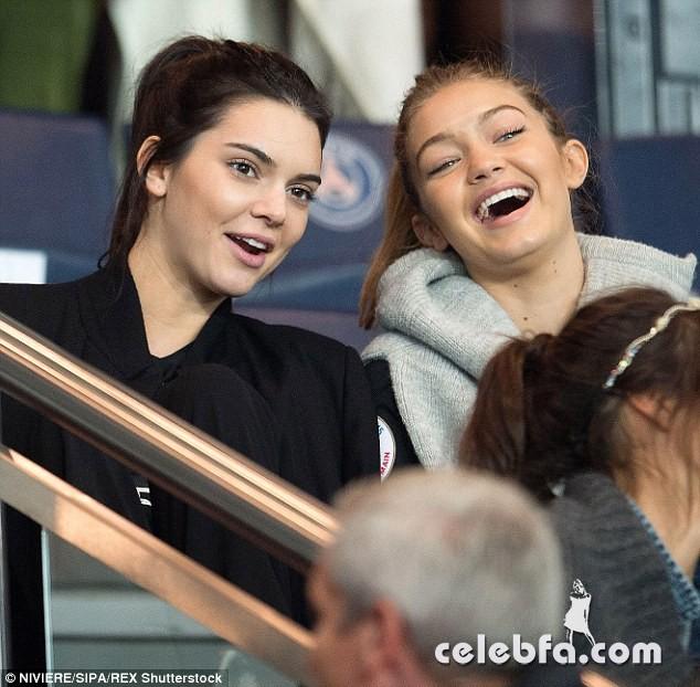 Kendall Jenner and Gigi Hadid -Rihanna (20)