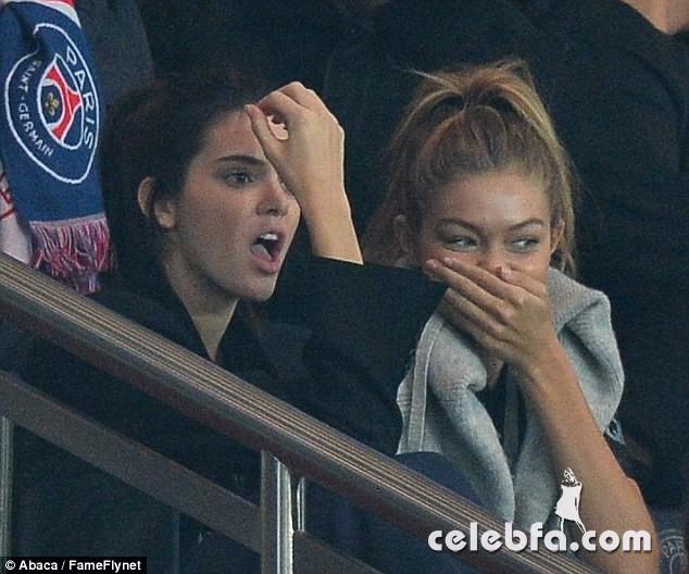 Kendall Jenner and Gigi Hadid -Rihanna (5)