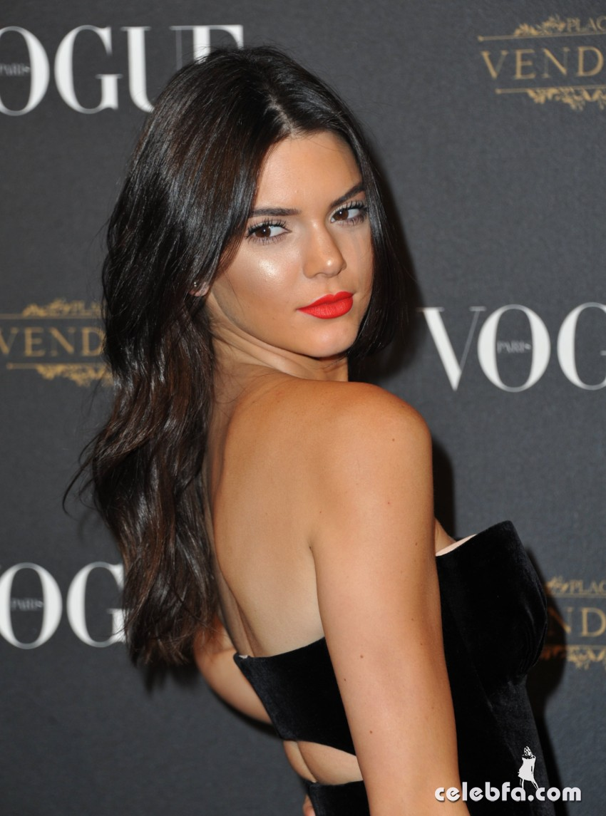 Kendall Jenner - Vogue 95th Anniversary Party (2)