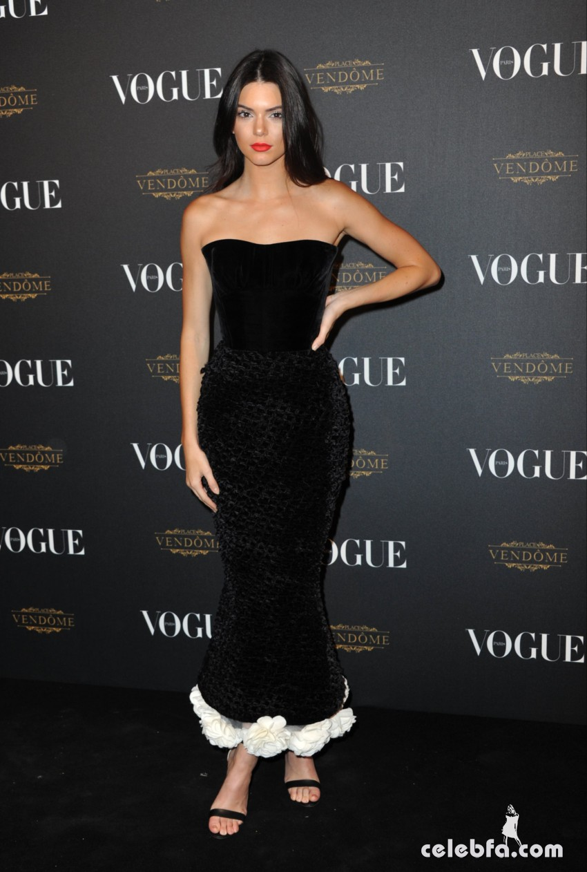 Kendall Jenner - Vogue 95th Anniversary Party (3)