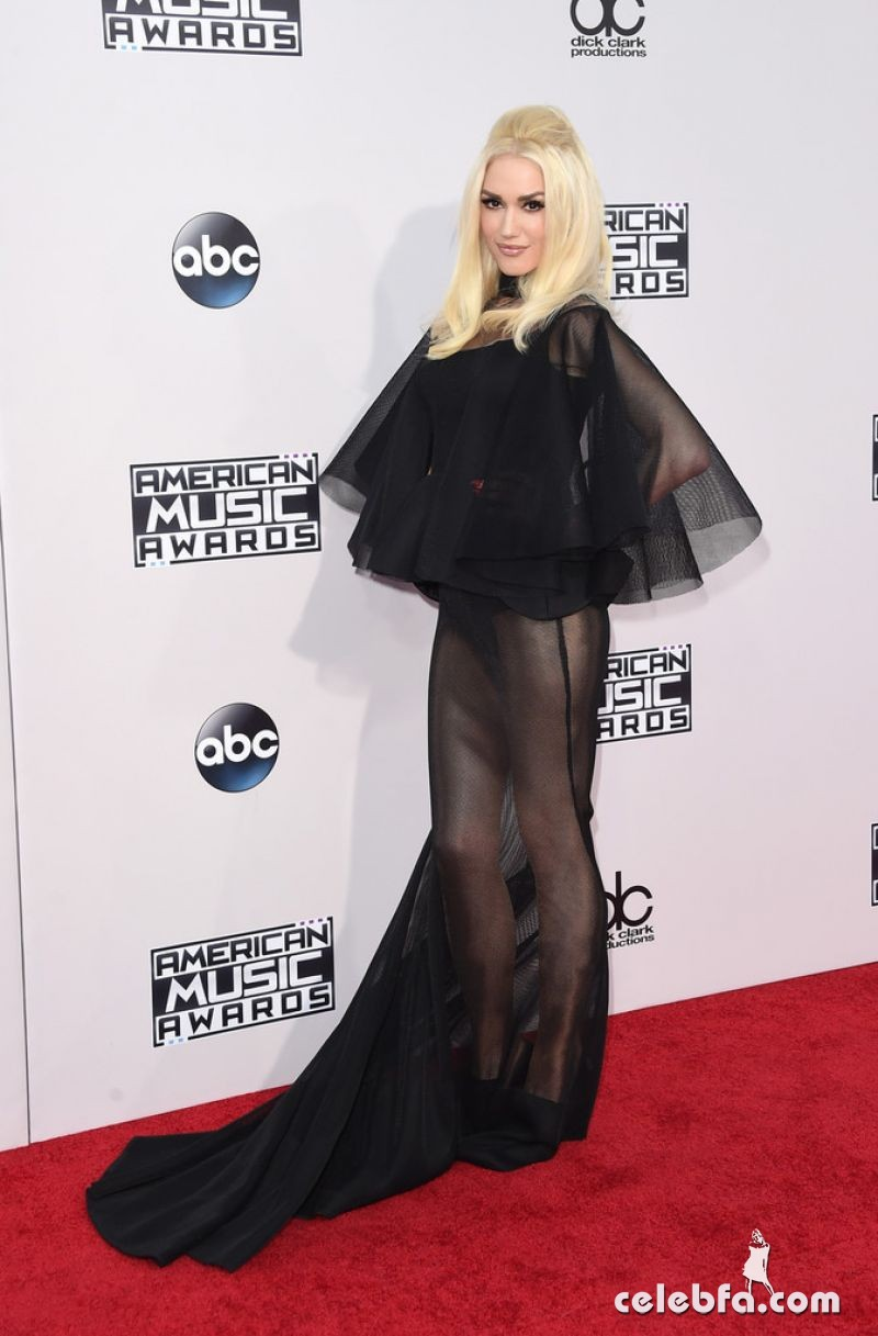 gwen-stefani-at-2015-american-music-awards-in-los-angeles (2)