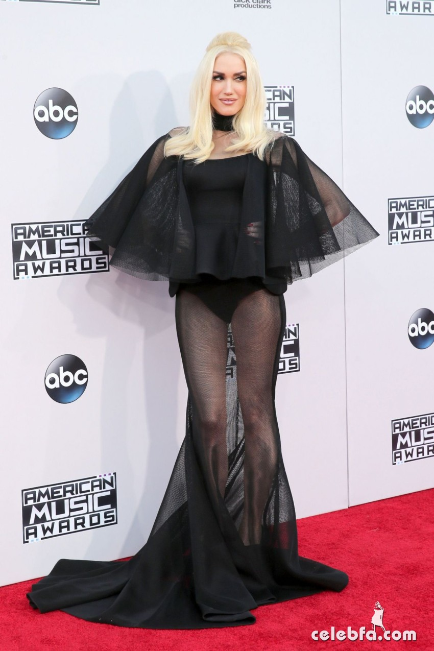 gwen-stefani-at-2015-american-music-awards-in-los-angeles (5)