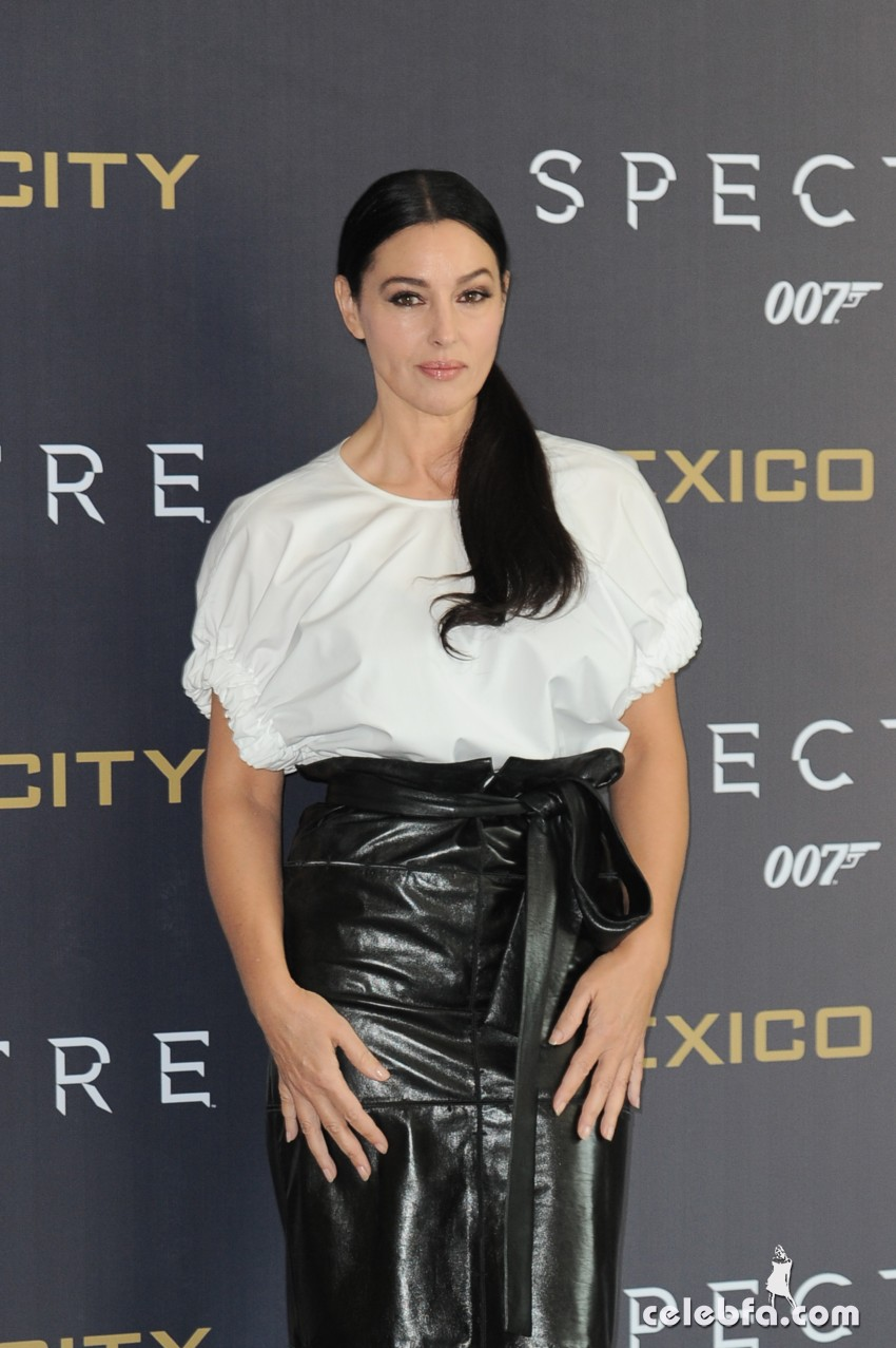 Monica Bellucci  attends James Bond 'Spectre' Film Photocall at Hotel St. Regis on November 01, 2015 in Mexico City, Mexico. Photo by Carlos Tischler/ Eyepix