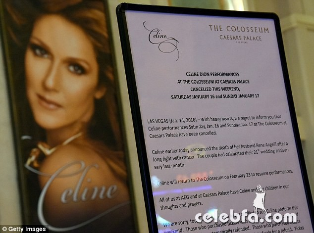 Celine Dion's husband and manager René Angélil died (4)