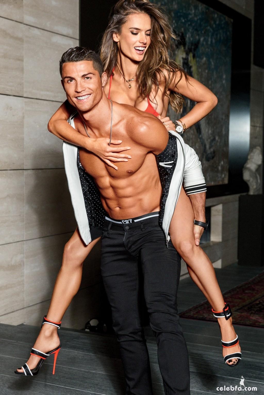 Cristiano Ronaldo & Alessandra Ambrosio - GQ (3)