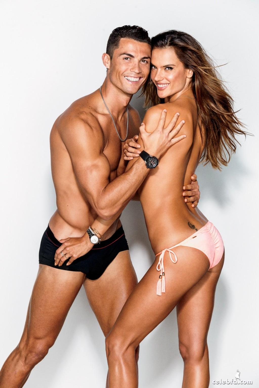 Cristiano Ronaldo & Alessandra Ambrosio - GQ (5)