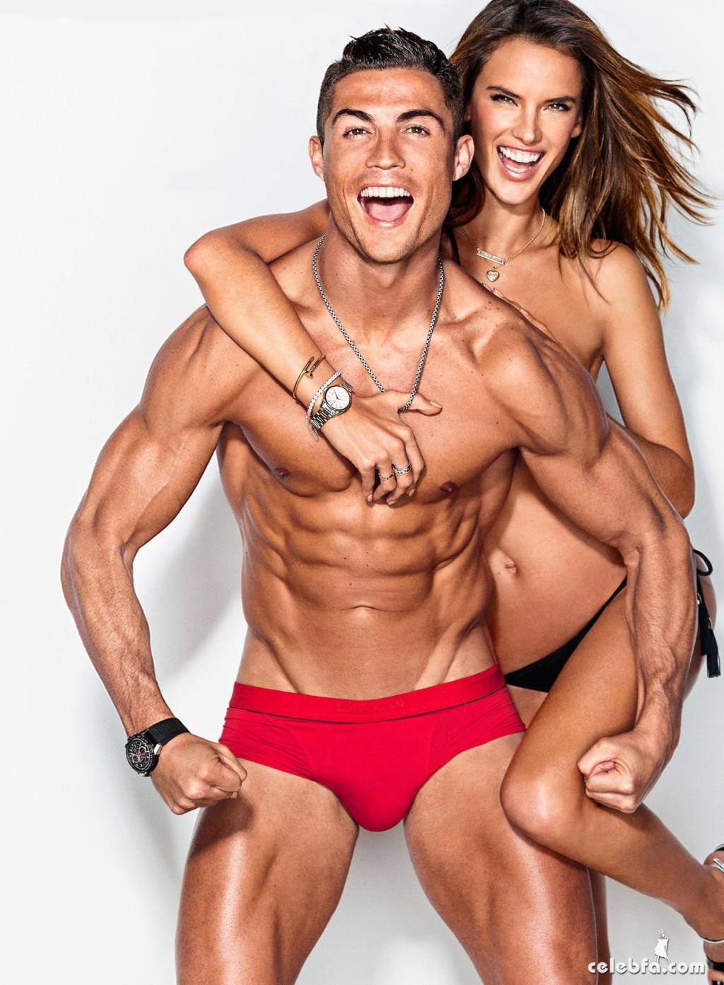 Cristiano Ronaldo & Alessandra Ambrosio - GQ (7)