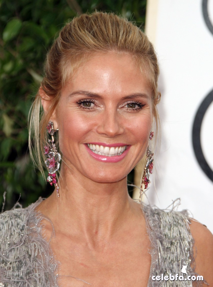 Heidi KLum attends 73rd Annual Golden Globe Awards (4)