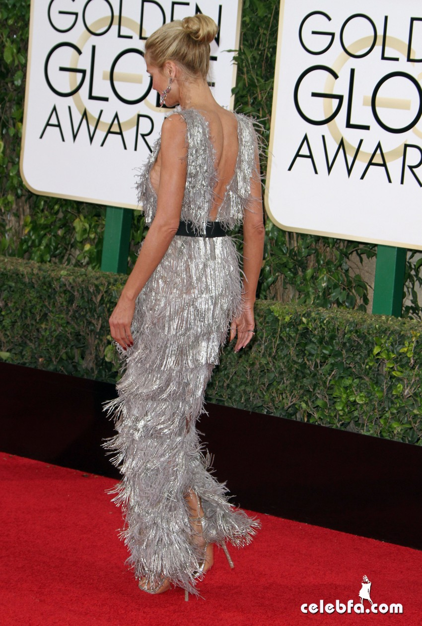 Heidi KLum attends 73rd Annual Golden Globe Awards (5)