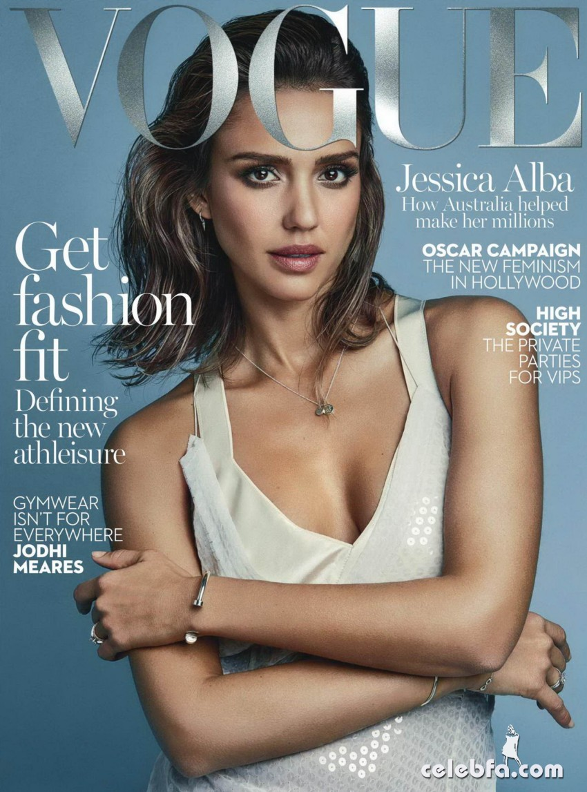 Jessica Alba - Vogue Australia magazine ~ February 2016_001