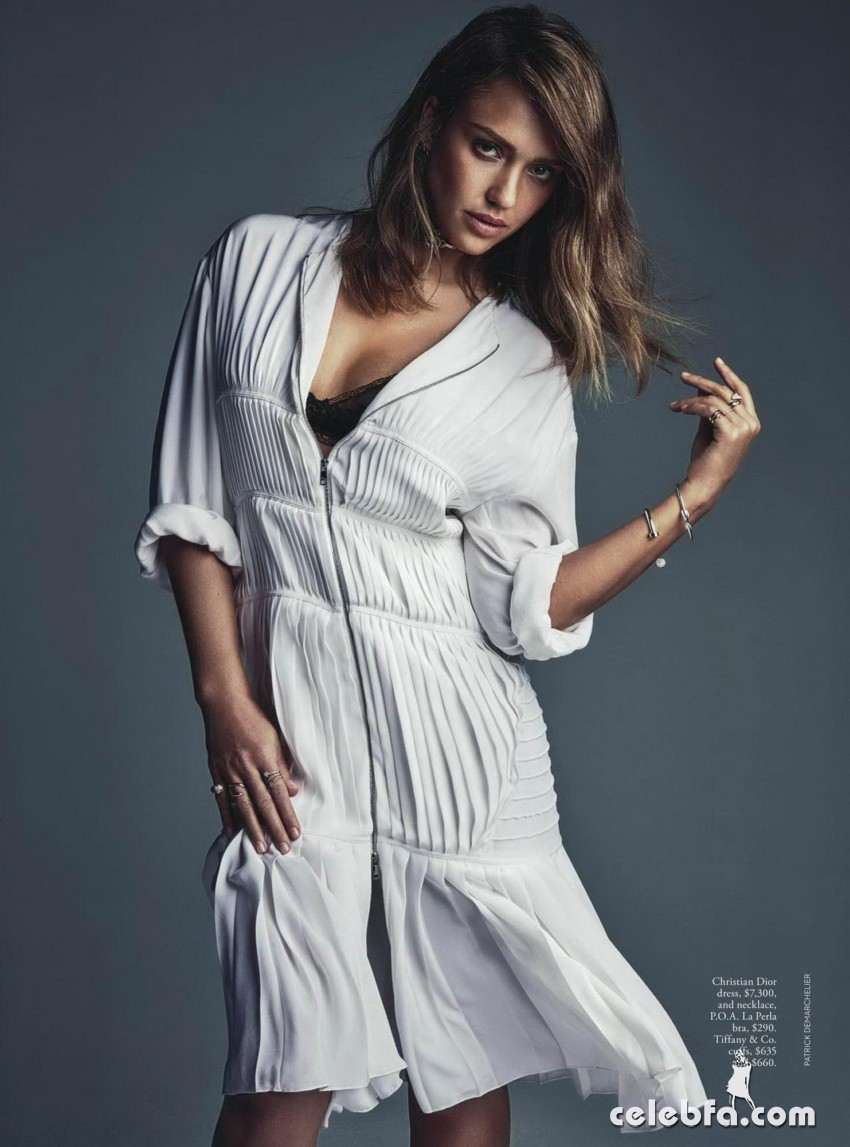 Jessica Alba - Vogue Australia magazine ~ February 2016_003
