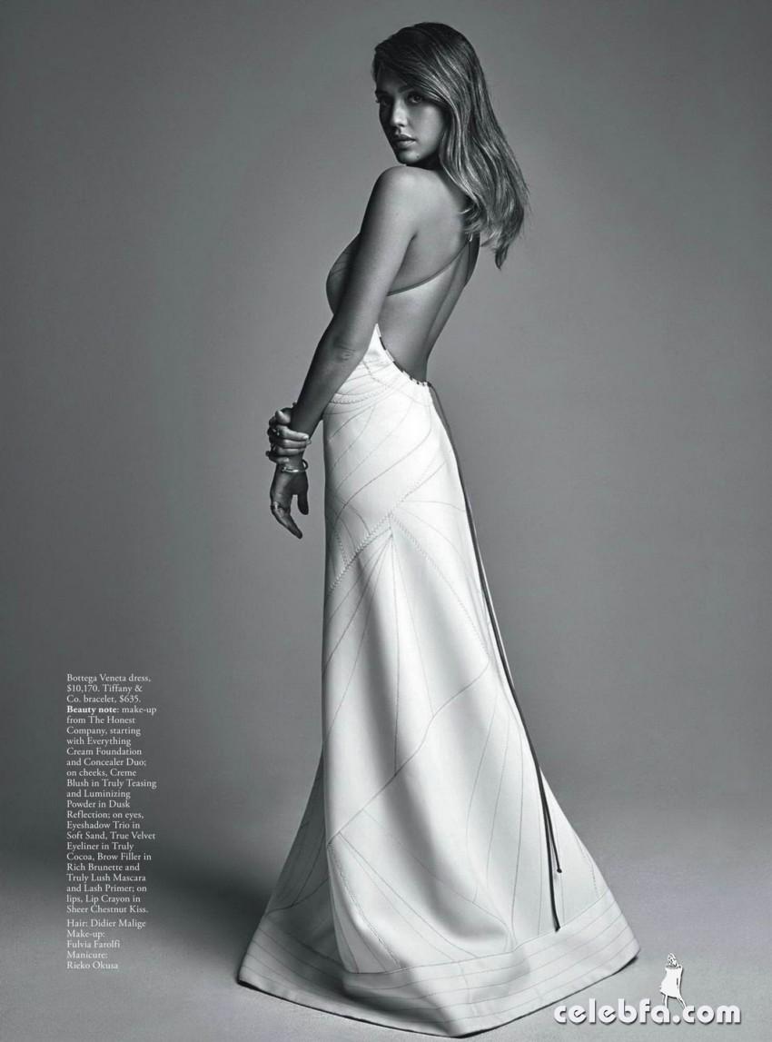 Jessica Alba - Vogue Australia magazine ~ February 2016_008