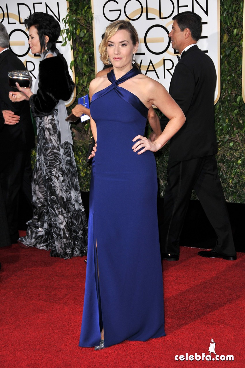 Kate Winslet - 73rd Annual Golden Globe Awards  (5)