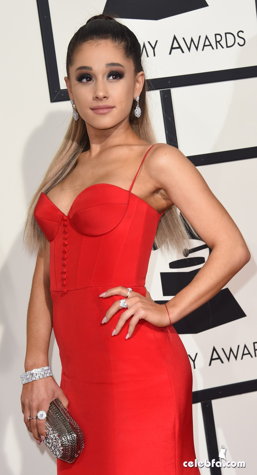 Ariana Grande - The 58th GRAMMY Awards (1)