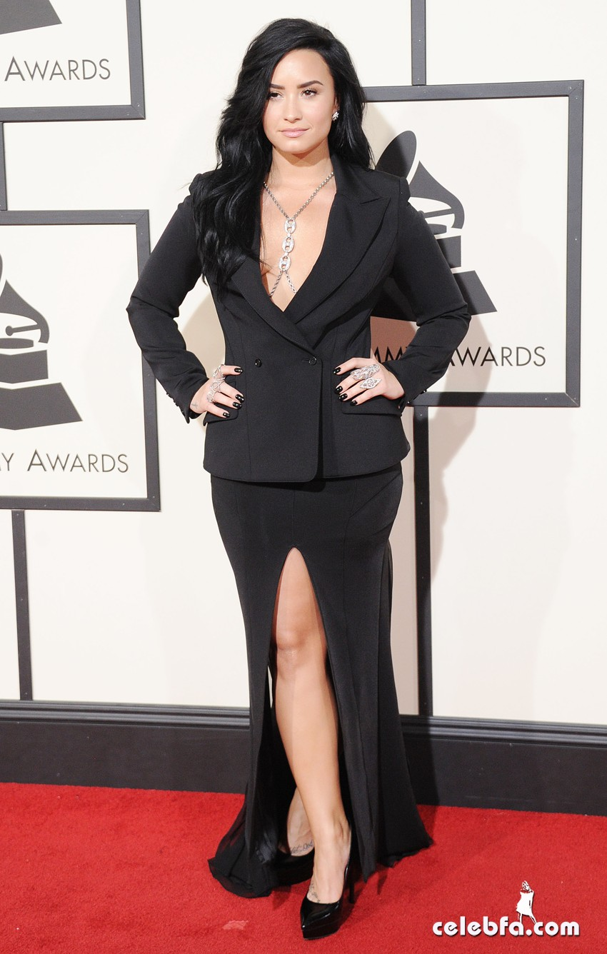 Pictured: Demi Lovato Mandatory Credit © Gilbert Flores /Broadimage 2016 Grammy Awards 2/15/16, Los Angeles, California, United States of America Reference: 021516_GFLA_BDG_GA_189 Broadimage Newswire Los Angeles 1+ (310) 301-1027 New York 1+ (646) 827-9134 sales@broadimage.com http://www.broadimage.com