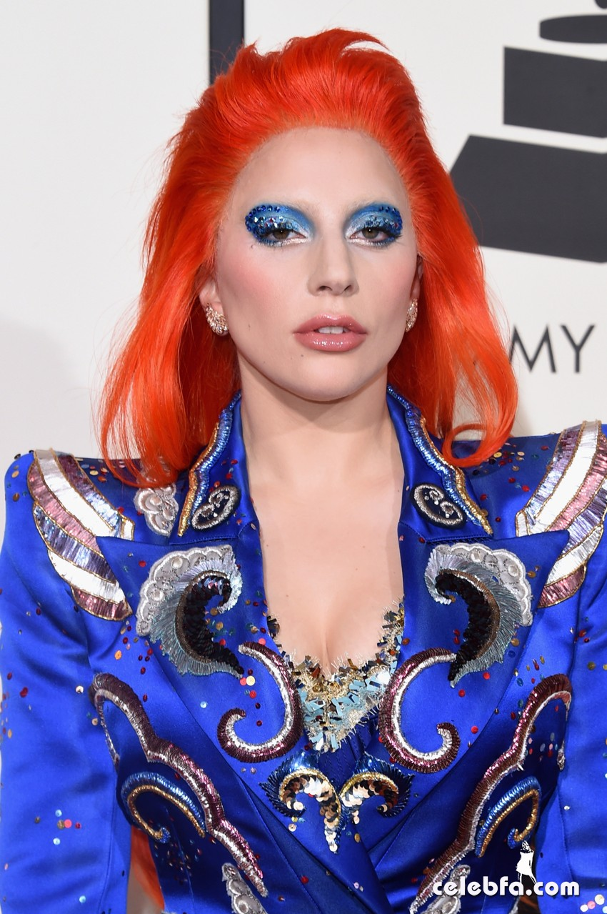 Lady Gaga - The 58th Annual GRAMMY  (1)
