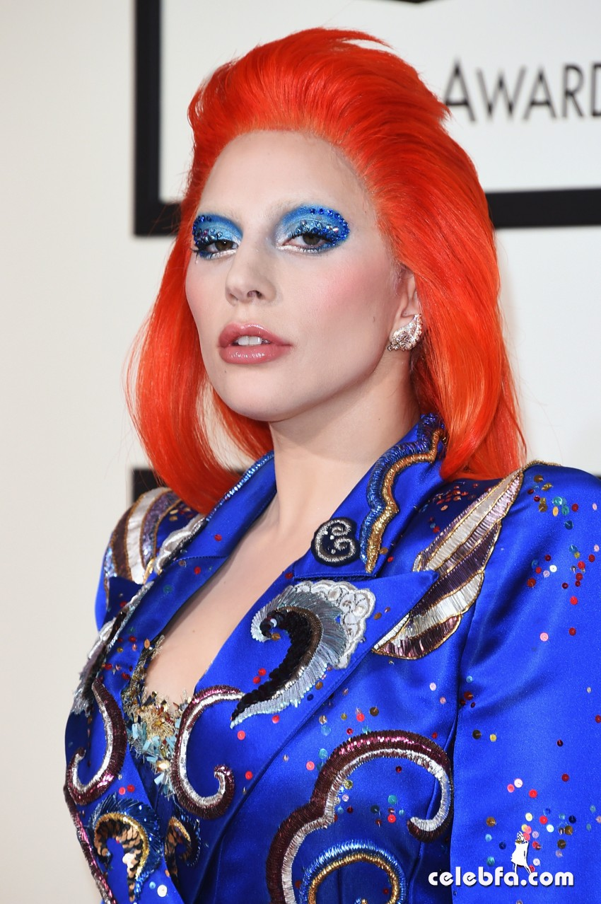 Lady Gaga - The 58th Annual GRAMMY  (2)