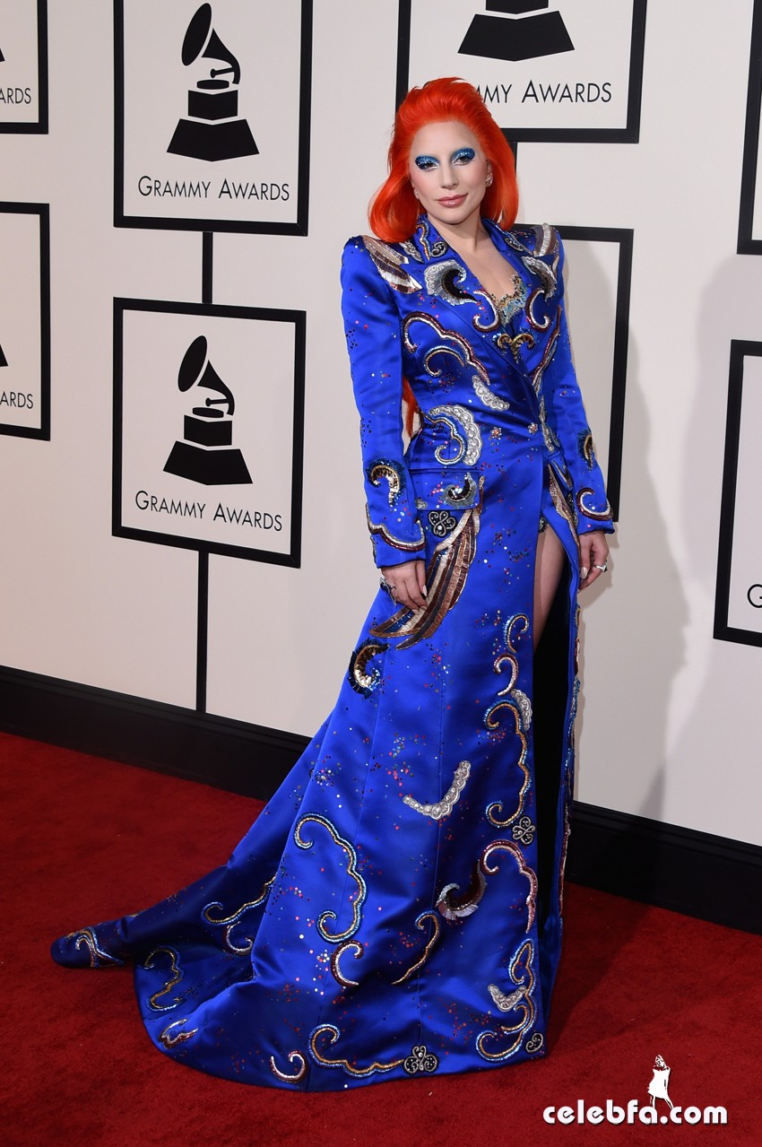Lady Gaga - The 58th Annual GRAMMY  (5)