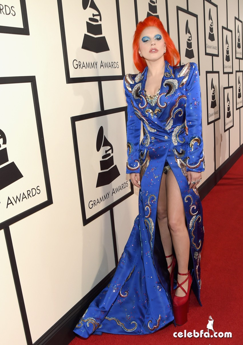 Lady Gaga - The 58th Annual GRAMMY  (6)