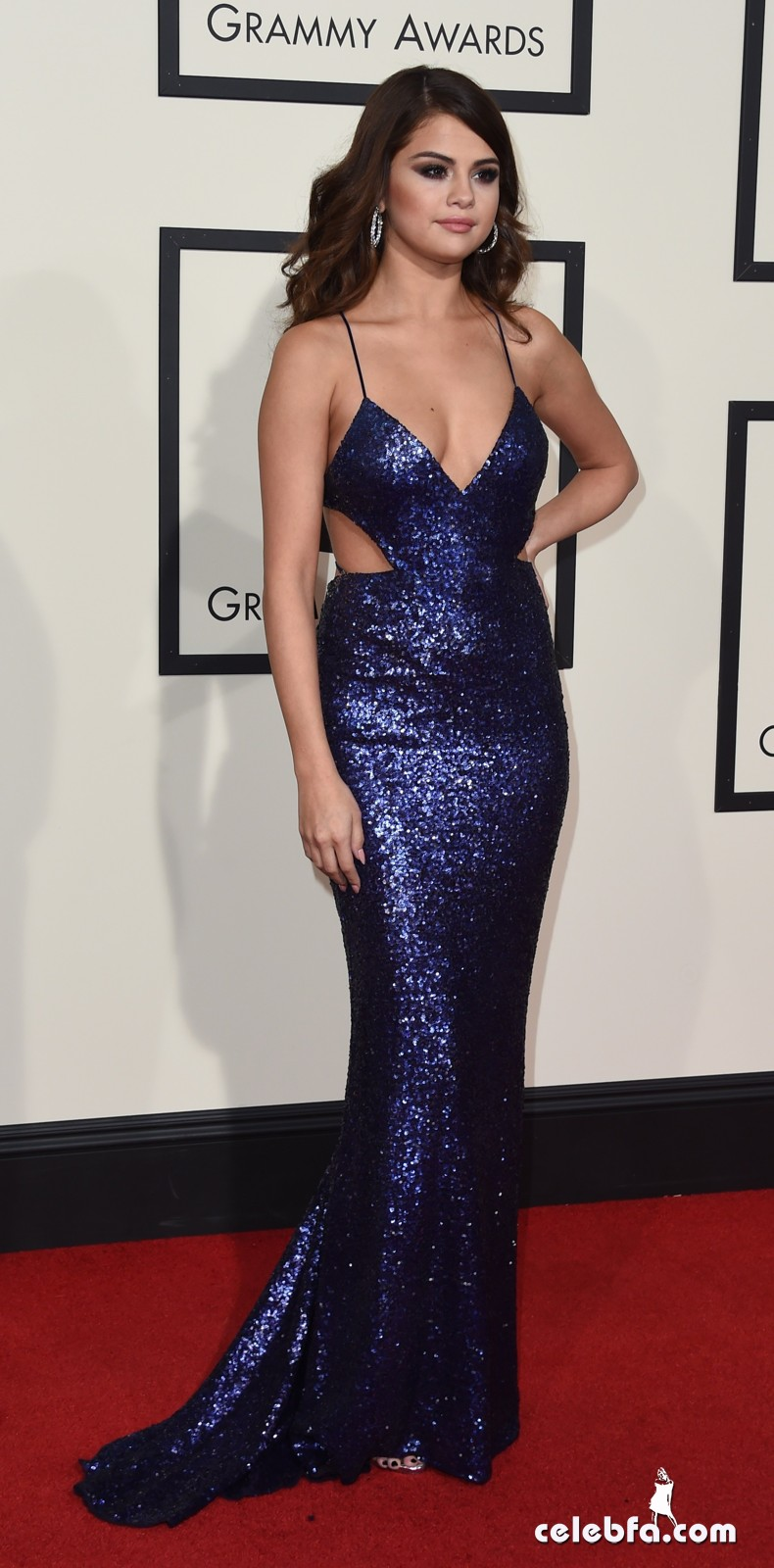 Selena Gomez - The 58th Annual GRAMMY Awards (3)