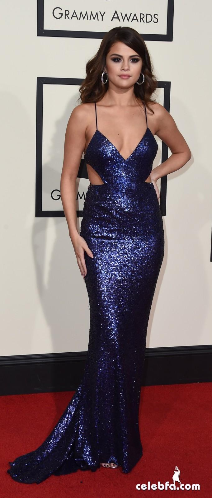 Selena Gomez - The 58th Annual GRAMMY Awards (5)